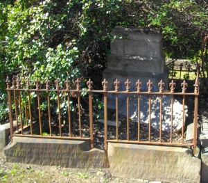 Grave of James & Jane Dempsey, Rookwood Cemetery, 2013