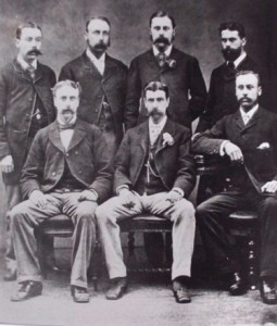 Seven sons of Thomas Edenborough