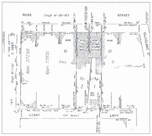 Land Titles Office of New South Wales Deposited Plan 500 724 of Lot 17