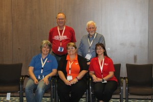 Our Unlock The Past team: Eric Kopittke, Alan Phillips, Rosemary Kopittke, Helen Smith, Alona Tester