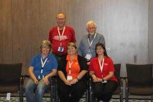 Our Unlock The Past team: Eric Kopittke, Alan Phillips, Rosemary Kopittke, Helen Smith, Alona Tester