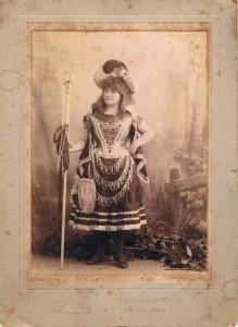 Mrs Clark front