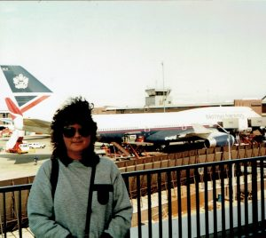 1992 - my first overseas trip