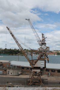 Abandoned Cranes